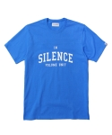 인사일런스(INSILENCE) SHORT SLEEVE FOOTBALL TEE (BLUE)