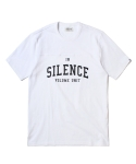 인사일런스(INSILENCE) SHORT SLEEVE FOOTBALL TEE (WHITE)