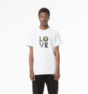 유앤엘씨(U&LC) LOVE T SHIRTS_white