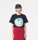 유앤엘씨(U&LC) FLAMINGO T SHIRTS_navy