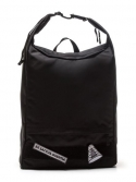 VELCRO PATCH 2WAY BACKPACK (BLACK)