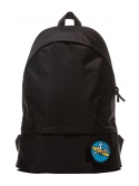 에이피오13(APO13) VELCRO PATCH DAY BACKPACK (BLACK)