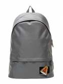 에이피오13(APO13) VELCRO PATCH DAY BACKPACK (GREY)
