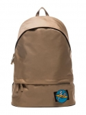VELCRO PATCH DAY BACKPACK (BEIGE)