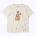 프랭크 도미닉(FRANK DOMINIC) CATCH GIRL T-SHIRT(CREAM)