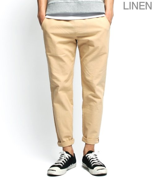 제멋_[제멋]Natural linen band pants beige(2009)