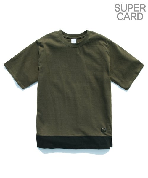 제멋_[제멋]5 - incision short tee khaki(2021)