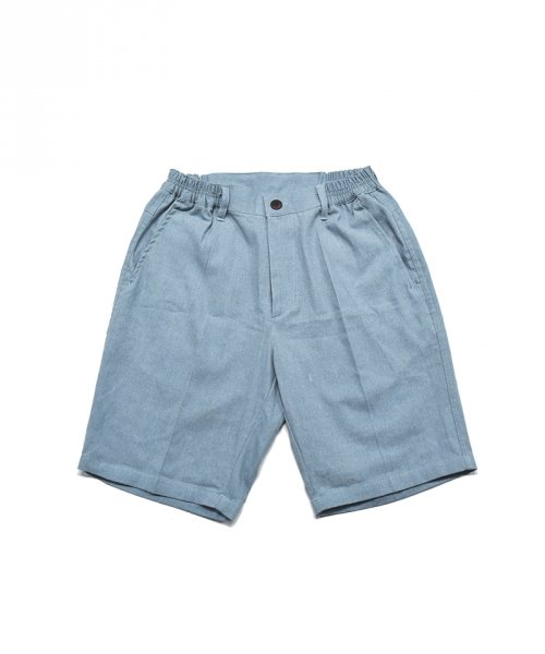 젬킨스_cotton Half Pants_LIGHT BLUE