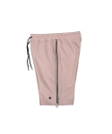 콰이트(QUITE) [콰이트] Double Zipper Sweatshorts (PINK)