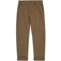 모디파이드() M#0945 cotton tapered fit pants (brown)