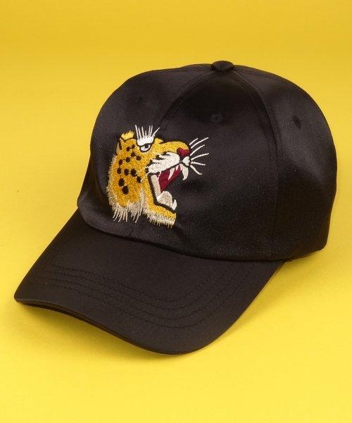 아비아_SOUVENIR CAP (GOLD PANTHER)