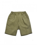 젬킨스(JEMKINS) cotton Half Pants_OLIVE GREEN