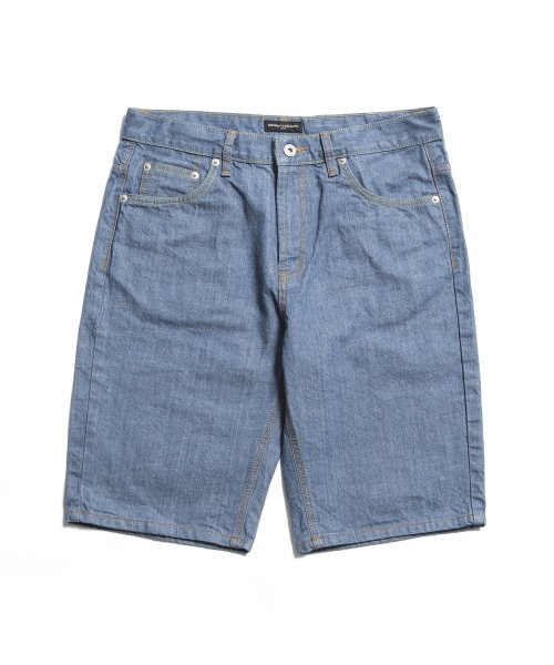 "제로(XERO) Vintage Denim Shorts ""Bright Slub"""