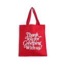 CREEP STREET Gratitude Tote (Red)