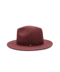 보울러(BOWLLER) Button Fedora Burgundy