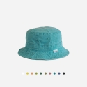WASHED COTTON BUCKET HAT (10 COLORS)