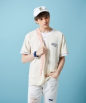 우아(OOH-AHH) Ruler T-shirt (CREAM)