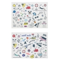 에이비로드(ABROAD) 2Much Tatto Sticker (2 set)