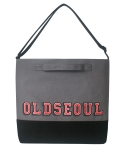 스티디(STIDIE) oldseoul tote&cross bag-gray