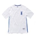 본챔스(BORN CHAMPS) CMPS 08 SIDE LINE TEE WHITE