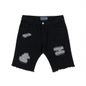 네스티팜(NASTY PALM) [NYPM] NXM DAMAGED SHORTPANTS (BLK)