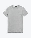 셔터(SHUTTER) SHUTTER POINT 1/2 T-SHIRTS (GRAY)