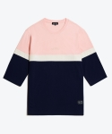 셔터(SHUTTER) SHUTTER COLOR SERIES 3/4 T-SHIRTS (LIGHT PINK)