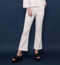 모한(MOHAN) [MOHAN] SLIM FLARED PANTS WHITE