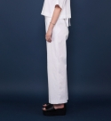 모한(MOHAN) [MOHAN] WIDE - LEG TROUSERS WHITE