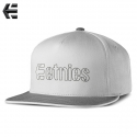 에트니스(Etnies) [ETNIES] CORPORATE 5 SNAPBACK HAT (GREY/LT GREY)