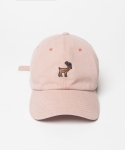 LONELY REINDEER BALL CAP PINK