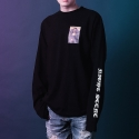 테뉴(TENUE) FUNK LONG SLEEVE BLACK (MEN)