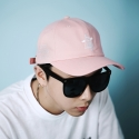 테뉴(TENUE) GOD KNOWS 6panel ball-cap (PINK)
