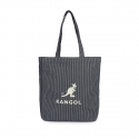 캉골(KANGOL) Eco Friendly Bag Juno 0011 Navy Stripe
