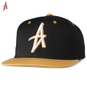 알타몬트(Altamont) [Altamont] DECADES SNAPBACK HAT (Black/Brown)