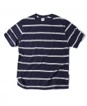 아웃스탠딩(OUTSTANDING) WAGNER BORDER TEE [NAVY]