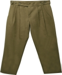 꼼파뇨(COMPAGNO) Linen Two tuck pants_khaki