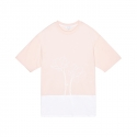 화이트블랭크레이블(WHITE BLANK LABEL) [White Garden] Mix Color S/S Tee(PINK)