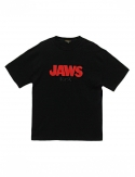 프리플(FREEPLE) JAWS t-shirt (black)