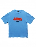 프리플(FREEPLE) JAWS t-shirt (blue)