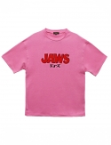 프리플(FREEPLE) JAWS t-shirt (pink)