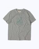 프랭크 도미닉(FRANK DOMINIC) SURF BEACH T-SHIRT(GRAY)