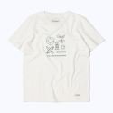 프랭크 도미닉(FRANK DOMINIC) SURF BEACH T-SHIRT(WHITE)