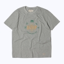 프랭크 도미닉(FRANK DOMINIC) SURF CLUB T-SHIRT(GRAY)
