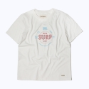 프랭크 도미닉(FRANK DOMINIC) SURF CLUB T-SHIRT(WHITE)