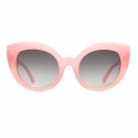 크랩 아이웨어(CRAP EYEWEAR) [CRAP] The Diamond Brunch Pink Grey Lens 남녀공용 선글라스