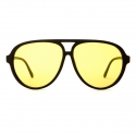 크랩 아이웨어(CRAP EYEWEAR) [CRAP] The Nite Shift Black Yellow Tint Lens 남녀공용 선글라스