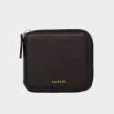 Dijon 301 ZIpper Wallet black