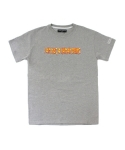 아임낫어휴먼비잉(I AM NOT A HUMAN BEING) Metal Logo T-Shirts- Grey