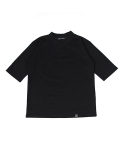 HANBOK NECK STRING SHORT SLEEVE TEE (BLACK)